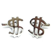 Dollar Sign Cufflinks design Cufflinks in gift box cuff links