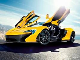 McLaren Sport Car Cool auto 24x18 POSTER - $9.95