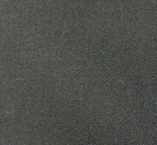 Super 120'S Full Weight Italian Wool Suit  Coat Fabric Blue Twill 5 Yards