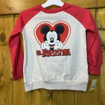 Disney Mickey Mouse 5T Mr. Irresistible Red sweatshirt - $10.28