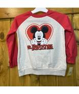 Disney Mickey Mouse 5T Mr. Irresistible Red sweatshirt - $10.28