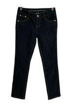 Arizona Jean girls denim jean rhinestone pockets blue size 8 Regular - $14.74