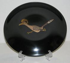 VTG Couroc Inlaid Roadrunner Bird Bowl Monterey... - $18.99
