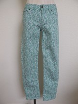 J. Crew Toothpick Floral Print Skinny Jeans Pants 27 XS Low Rise Waist 3... - $14.95