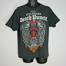 Five Finger Death Punch 5FDP Black TShirt L Legion Monster You Helped Cr... - $34.62