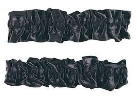 F51564 (Black) Satin Garter Arm Bands Set - $5.48