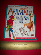 Scholastic Craft Book Art Drawing Animals Instruction Softcover Guide Ma... - $9.49