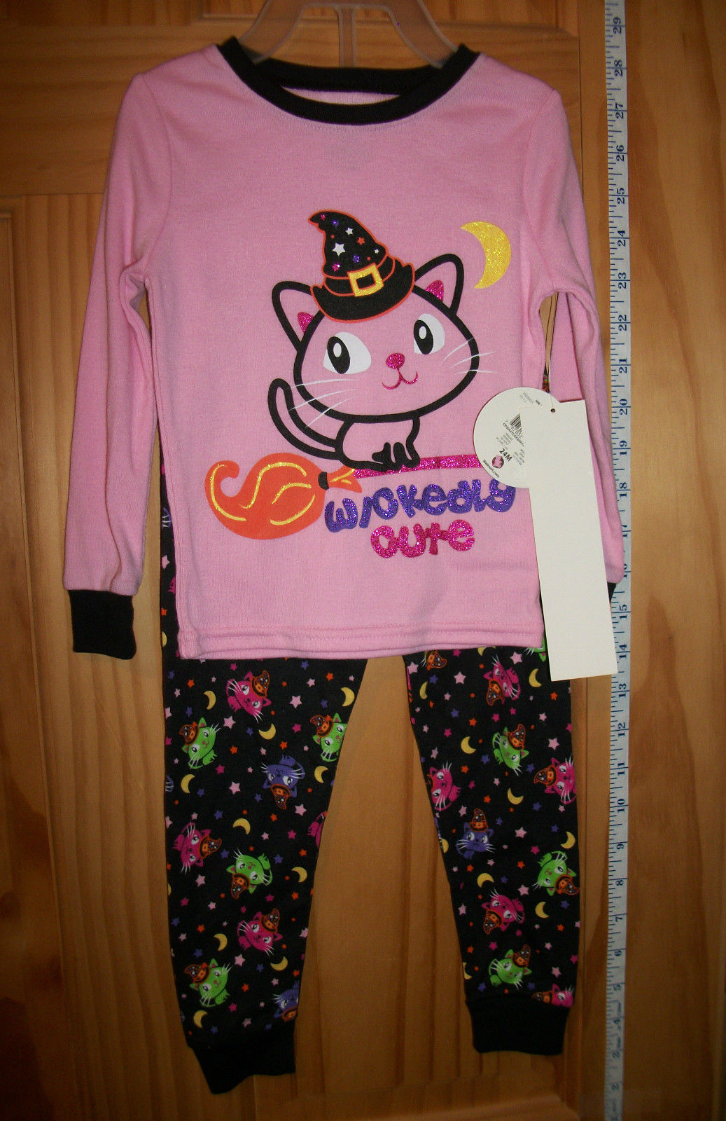 fashion holiday baby clothes 24m infant halloween costume pink wickedly cute cat