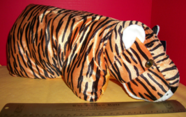Toy Gift Plush Tiger Pillow Gazzy Pals Big Cat Stuffed Animal Sleep Accessory - $18.99
