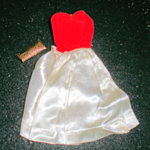 Barbie Red Flare Dress With Bag - $5.95