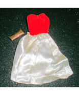 Barbie Red Flare Dress With Bag - $7.50