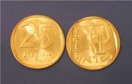 Israel 25 Agorot  Lira Coin 1975 UNC-BU - $1.00