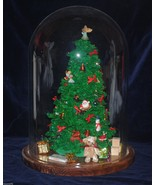 Vintage Westrim Beaded Mini Christmas Tree with Dome -Two Styles Available - $163.34
