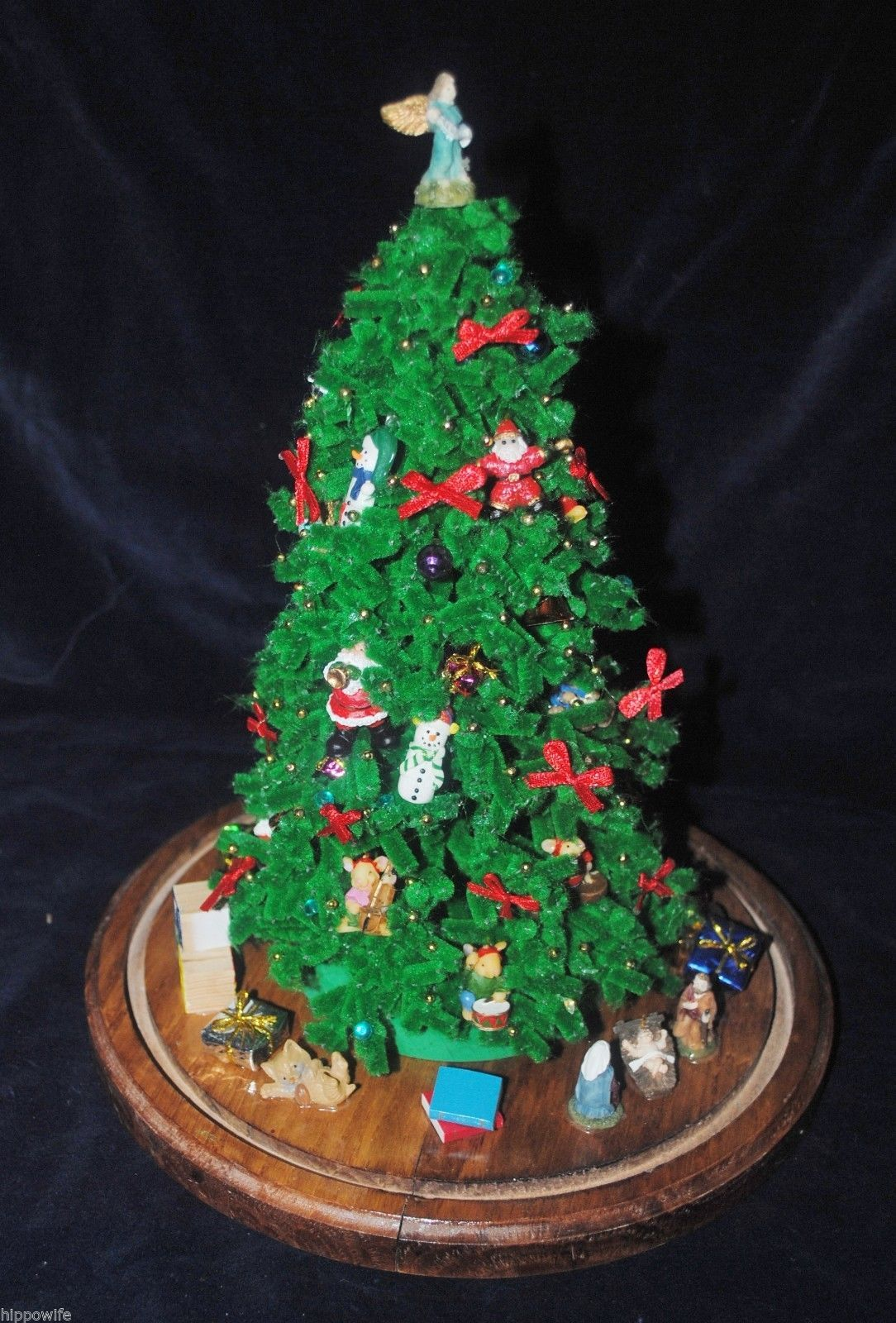 Vintage westrim beaded mini christmas tree and 50 similar for Christmas tree items list