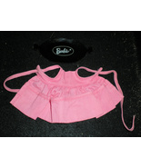 Barbie Pink Apron & Black Barbie Tray - $10.00