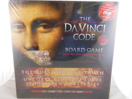 The Davinci Code Board Game The Quest for the Truth New in Factory Seale... - $14.99