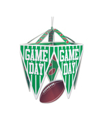 "Beistle Game Day Pennant Chandelier 11 1/2"" x 17 1/2""- Pack of 12 - £26.09 GBP"