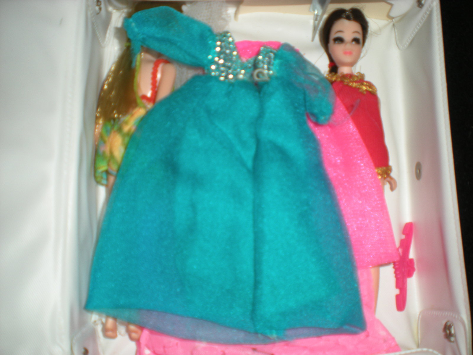 Vintage Dawn Dolls, Case, Dolls & Clothing