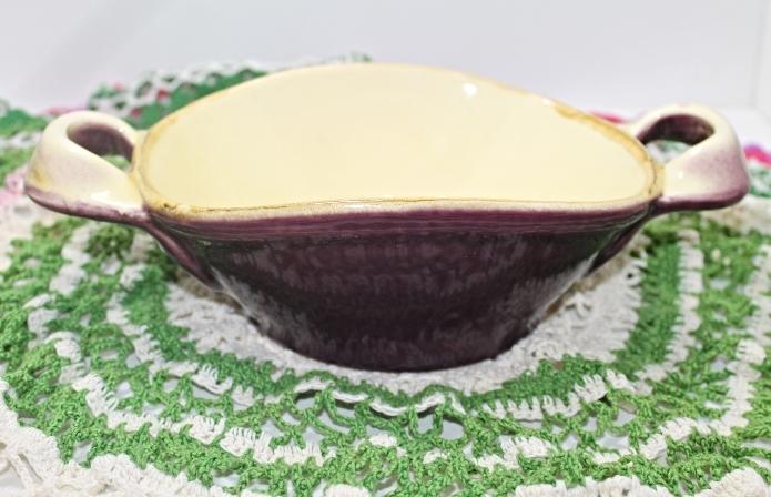 Vintage il nodo ceramiche purple casserole and 50 similar items