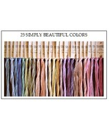 FLOSS STARTER SET 25/set Simply Beautiful Colors cross stitch Classic Co... - $54.00