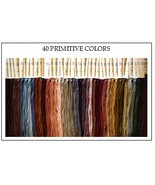FLOSS STARTER SET 40/set Primitive Colors cross... - $86.40