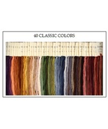 FLOSS STARTER SET 40/set Classic Colors cross stitch Classic Colorworks  - $86.40