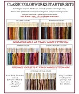 5 BUNDLES FLOSS STARTER SETS 150 skeins cross s... - $306.00