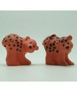 Fisher Price Little People Noahs Ark Figures Animals 2002 Leopard Cheetah Set - $9.99