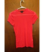The Limited Sheer Pink Tshirt - Juniors Larg - $6.99