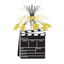 "Beistle Movie Set Clapboard Centerpiece 15""- Pack of 12 - $48.83"