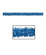 """Beistle 6-Ply FR Met Festooning Garland 4"""" x 15' - Blue- Pack of 12 - $83.32"""