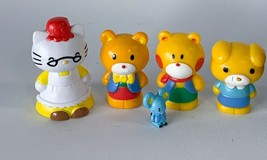 Hello Kitty & Friends Sanrio Figures 2012 Pvc Great Easter Gift Collection Lot - $10.00