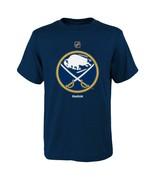 Boys Buffalo Sabres Reebok Primary Logo T Shirt Blue - sz Youth XL - $5.82