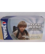 Star Wars Pepsi promotional sample can display EP 1 boxed set of 4 - $200.00
