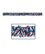 "Beistle 6-Ply FR Met Festooning Garland 4"" x 15' - Red, White & Blue- Pa... - $1,342.00"