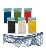 Beistle Fish Netting 4' x 12' - Assorted Color- Pack of 12 - $54.40