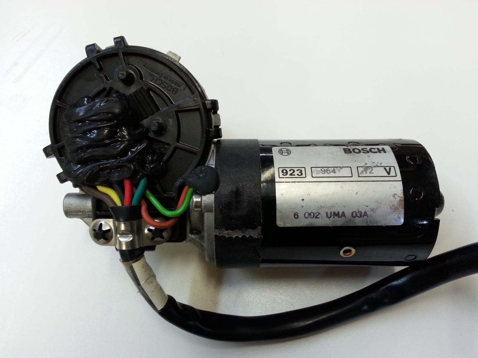 Bosch 923 964 12v Wiper Motor Windshield Wiper Systems