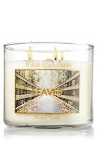 Bath and Body Works Leaves 3 Wick Scented Candle 14.5 oz - €34,87 EUR
