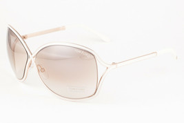 Tom Ford RICKIE 179 28G White Gold / Brown Sunglasses TF179 28G 64mm - $195.02