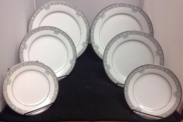 Lunceford by Noritake 6 pcs. - 2 each Dinner, Salad, and Bread Plates - $23.22