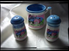 Ohio Set of Salt & Peppers Shakers and a Coffe Mug - $4.00
