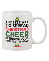 Cute Holiday Coffee Mug - The Best Way to Spread Christmas Cheer (JMC010) - $14.99