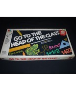 Vintage 1985 Milton Bradley Go to the Head of the Class Board Game 25th Ed - $14.01