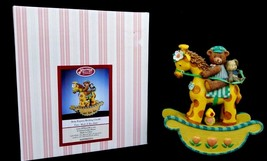 San Francisco Music Box Company Baby Express Rocking Giraffe Tune Rock A... - $19.00