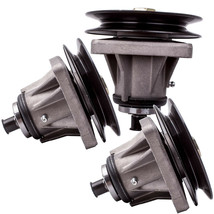 3pcs Spindle Assembly for MTD 618-0240C, 918-0240C 618-0240 46 decks with pulley - $66.05