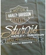 Harley Davidson Sturais 20th Anniversary Sleeveless Tee 2 XL - $9.77