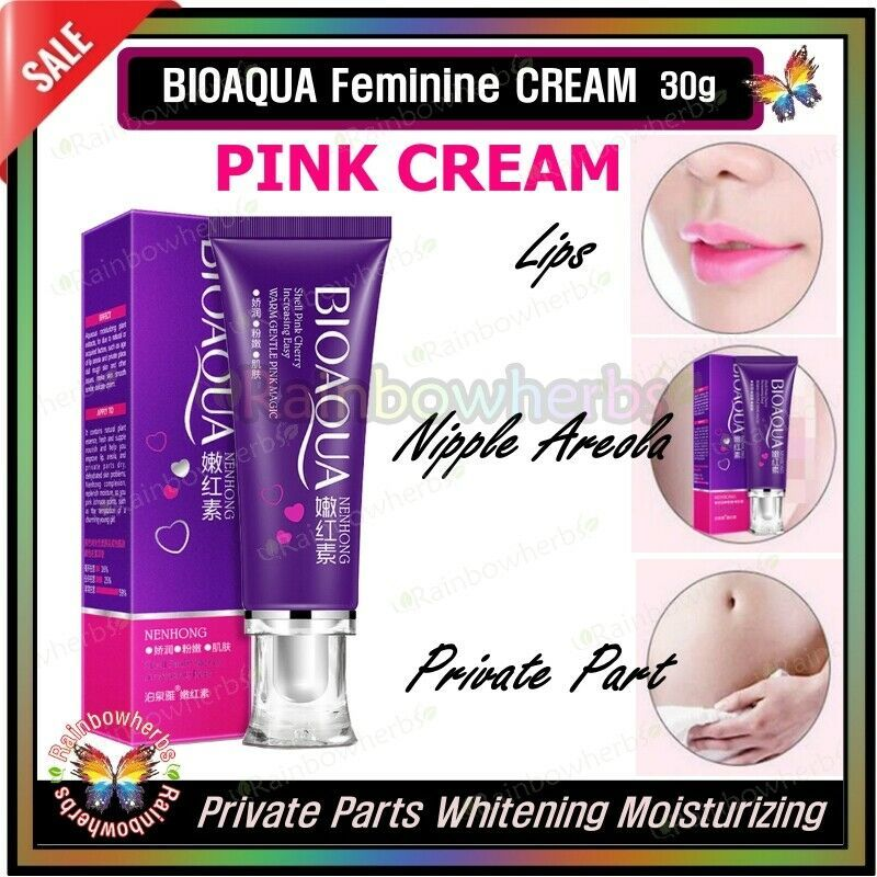 Primary image for BIOAQUA Pink CREAM Lips Nipple Areola Private Part Whitening Moisturizing 30g