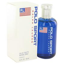 POLO SPORT by Ralph Lauren Eau De Toilette Spray 4.2 oz for Men - $95.95