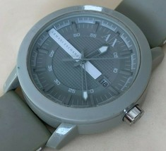 Armani Exchange AX1238 Mens Plastic Analog Quartz Watch Hours~Date~New Battery - $37.99