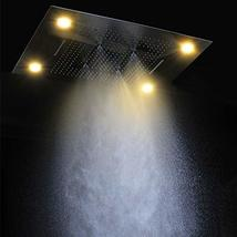 Cascada Classic Design 23 x 31 Inch large recessed rain shower head w/4 function - $2,276.95